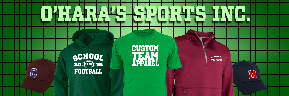 9699c4ef3 Welcome to O'Hara's Sports Inc. Custom Screen Printing, Embroidery, and  Tackle Twill